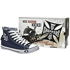 Baskets West Coast Choppers Warrior navy blue