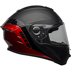 Casque BELL Star DLX Mips Shockwave matte gloss black candy red
