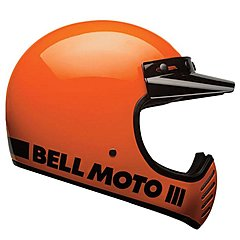 Casque Bell Moto 3 Classic Fluo Orange