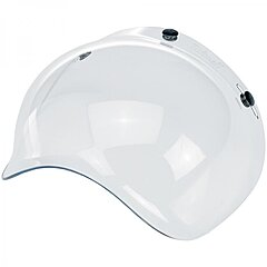 Visière Biltwell bubble shield anti-fog clear