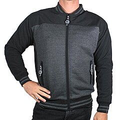 Blouson Harisson Bear noir anthracite