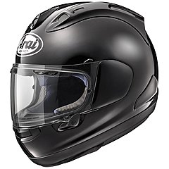 Casque Arai RX7 V Diamond Black, noir brillant