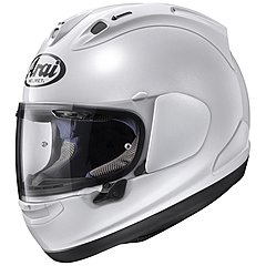 Casque Arai RX7 V Diamond white, blanc brillant