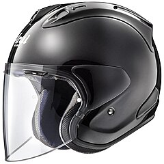 Casque Arai SZ-R VAS Diamond black, noir brillant