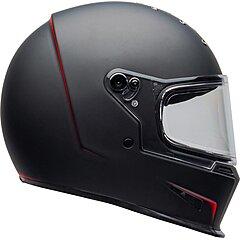 Casque Bell Eliminator Vanish matte black red
