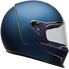 Casque Bell Eliminator Vanish matte blue yellow