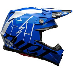 Casque Bell Moto 9 Flex Fasthouse DID 20 gloss blue white
