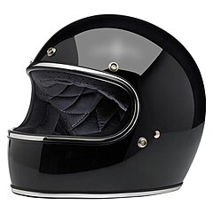 Casque Biltwell Gringo ECE gloss black