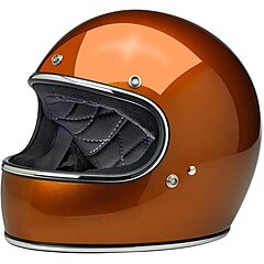 Casque Biltwell Gringo ECE gloss copper