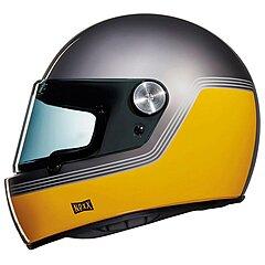 Casque Nexx XG100 Racer Motordrome Titanium Yellow