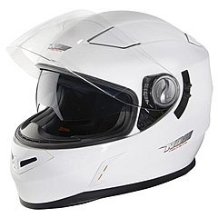 Casque Nox N917 blanc brillant
