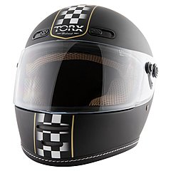 Casque Torx Barry Legend Racer Black Mat