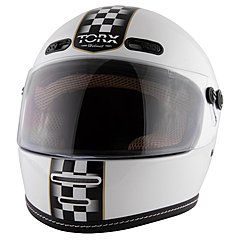 Casque Torx Barry Legend Racer White shiny