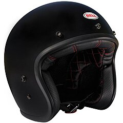 Casque Bell Custom 500 Solid Matte Black