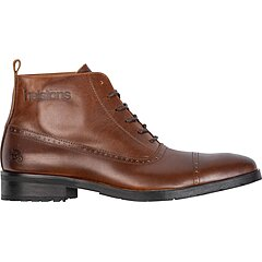 Chaussures Helstons Heroes cuir aniline marron ciré