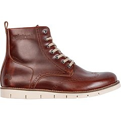 Chaussures Helstons Holey cuir aniline marron