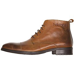 Chaussures Helstons Heritage cuir camel ciré