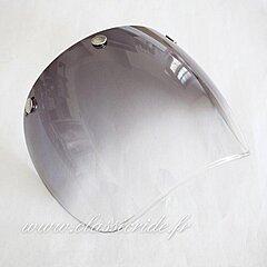Visiere modèle Droit N242 Fumé dégradé gradient
