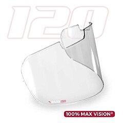 Écran Pinlock incolore 100% Max Vision pour visière Arai VAS