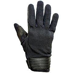 Gants femme Helstons Simple hiver textile noir