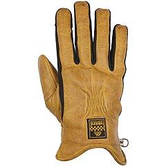 Gants Helstons Benson hiver cuir gold noir