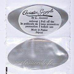 Oculaires Aviator Goggle fumés pour lunettes 4600 et 4602