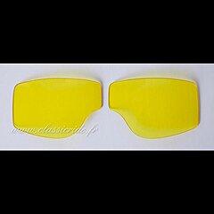 Oculaires Jaune pour  Goggle Aviator T1 T2 et T3