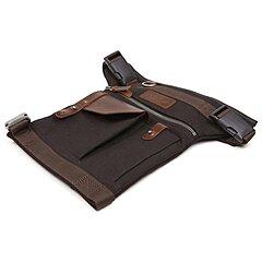 Sacoche de jambe Helstons, noire marron