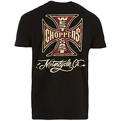 Tee shirt West Coast Choppers Motorcycle Co black