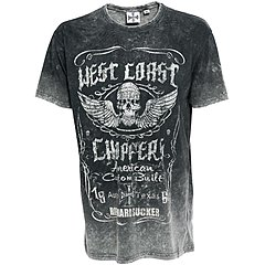 Tee shirt West Coast Choppers Ride hard Sucker