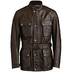 Veste Belstaff Trialmaster Pro cuir black brown