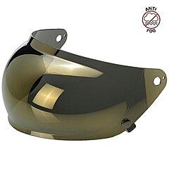 Visière Biltwell Gringo S Anti-fog Bubble Shield Gold Mirror