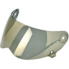 Visière Biltwell Lane Splitter anti-fog shield gold mirror