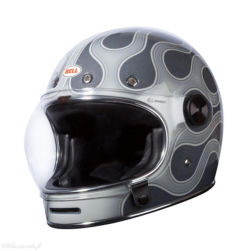 bell bullitt chemical candy grey casque moto int gral vintage. Black Bedroom Furniture Sets. Home Design Ideas