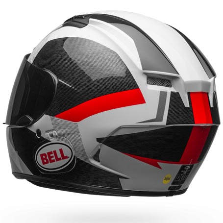 casque bell qualifier dlx mips accelerator red black int gral moto. Black Bedroom Furniture Sets. Home Design Ideas