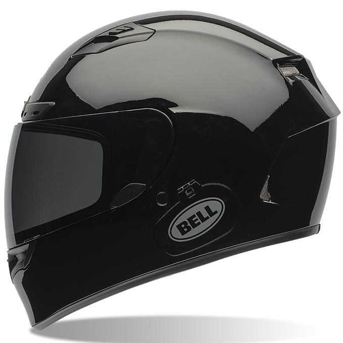 casque bell qualifier dlx solid black int gral moto noir brillant. Black Bedroom Furniture Sets. Home Design Ideas