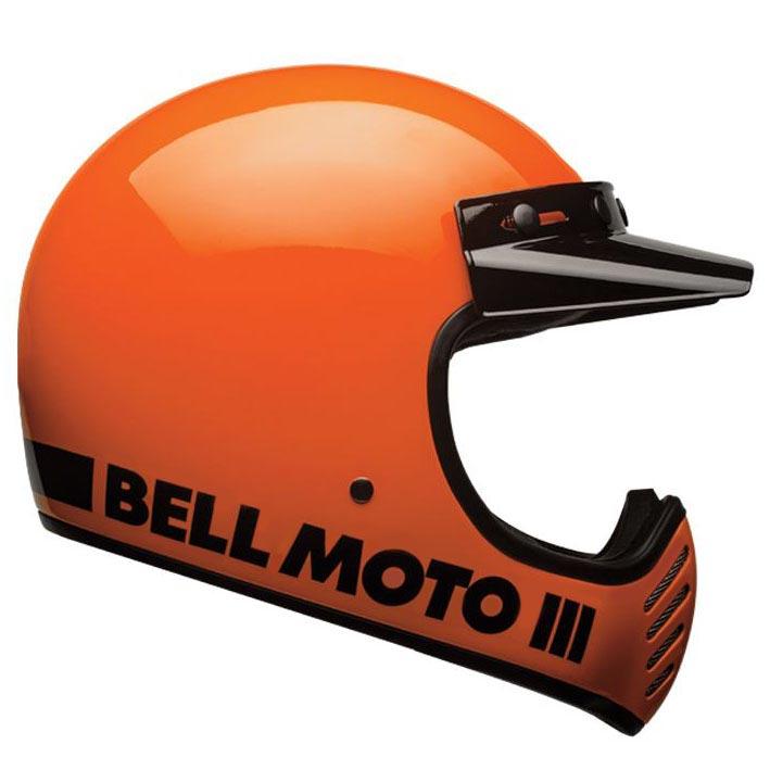 Casque Bell Moto 3 Classic Fluo Orange