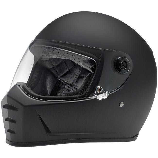 casque biltwell lane splitter flat black int gral moto custom. Black Bedroom Furniture Sets. Home Design Ideas