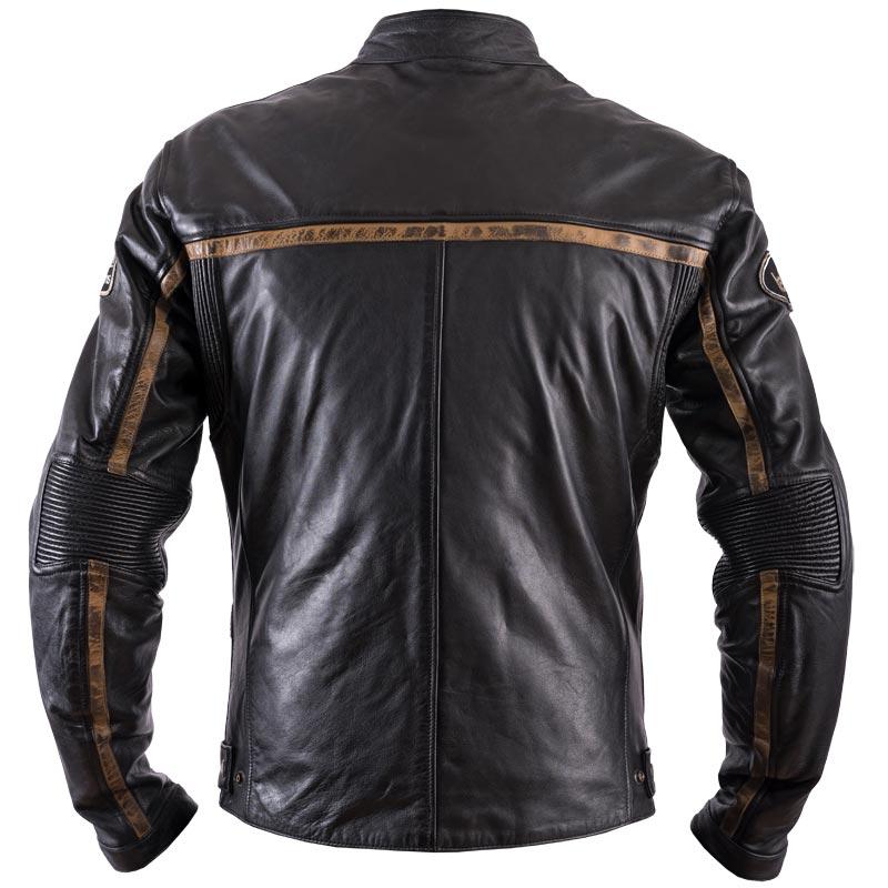 871f4d441a173 blouson helstons daytona cuir rag noir moto vintage homme dos