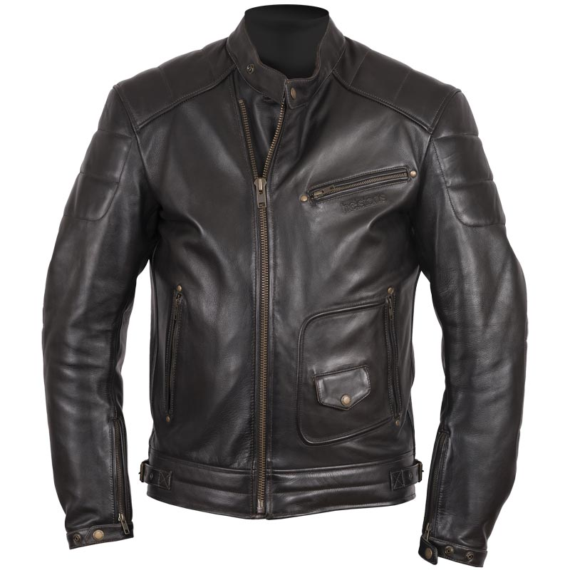 blouson helstons rusty cuir dirty moto vintage r tro homme. Black Bedroom Furniture Sets. Home Design Ideas