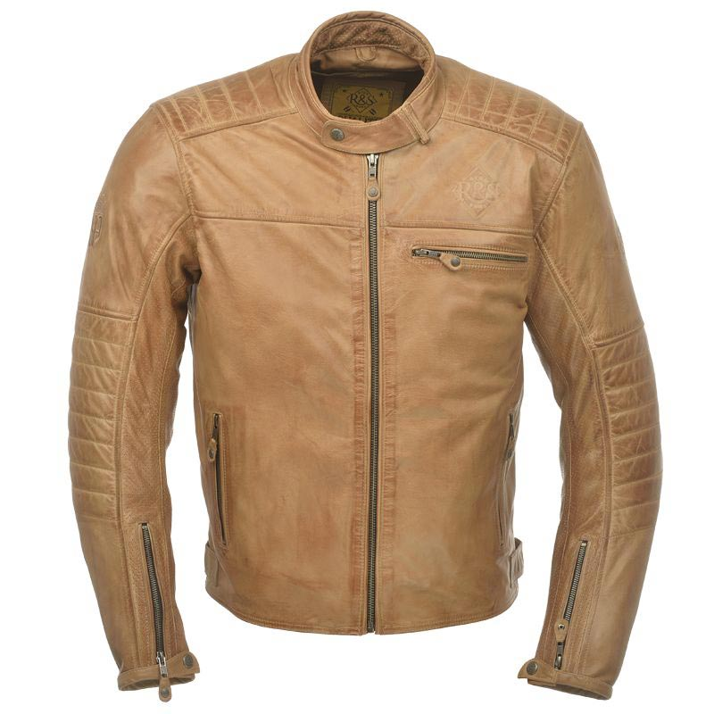 ride and sons getaway cognac blouson moto cuir vintage. Black Bedroom Furniture Sets. Home Design Ideas