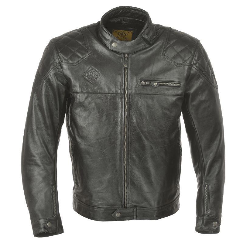 ride and sons ace black blouson moto homme cuir vintage. Black Bedroom Furniture Sets. Home Design Ideas