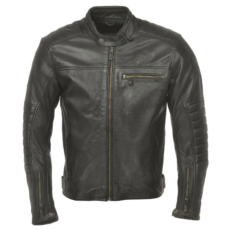 ride and sons getaway black blouson moto cuir vintage
