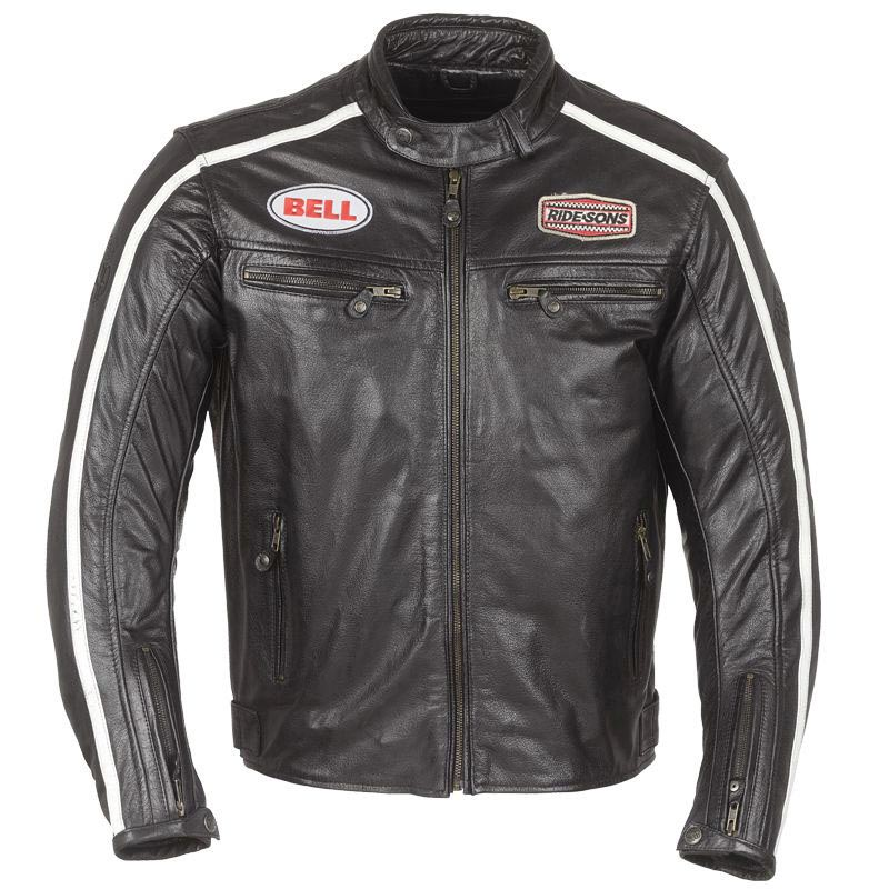 Ride and Sons Heritage Racing BELL, blouson moto cafe racer