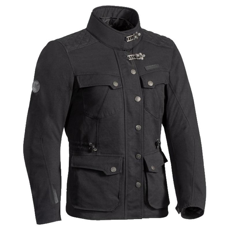 4c97bc2669e8b Blouson moto femme homologué CE. Veste en tissu noir, avec doublure  amovible chaude et étanche. REF   15IEXHLN
