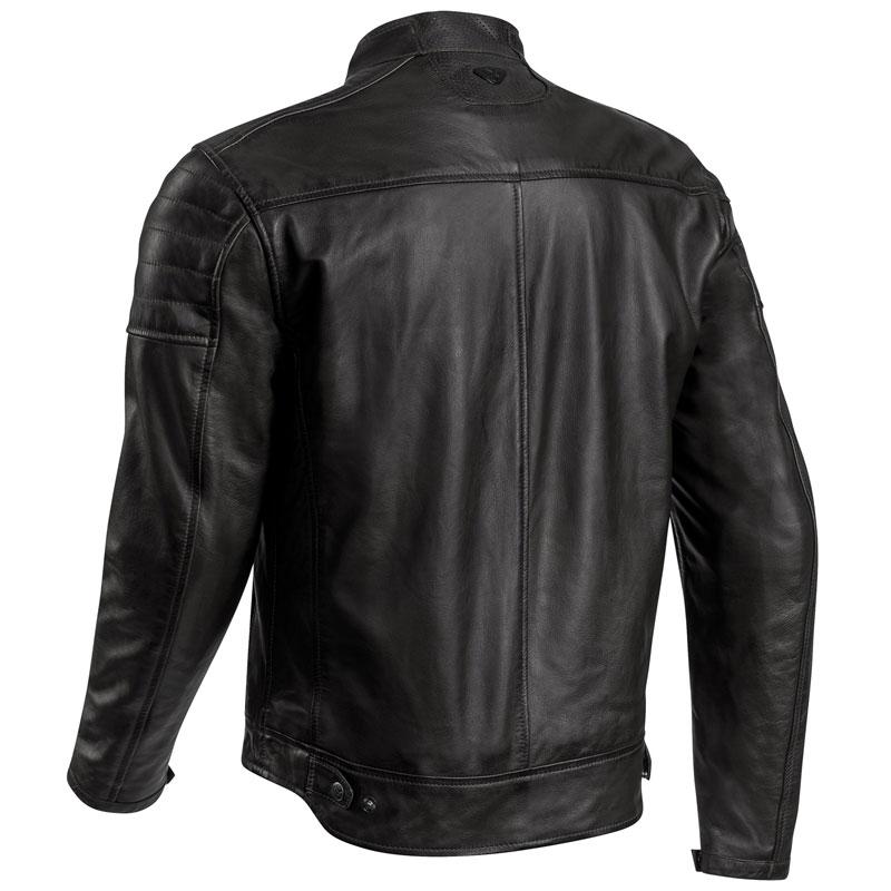 blouson ixon torque cuir noir cuir moto vintage homme ce. Black Bedroom Furniture Sets. Home Design Ideas