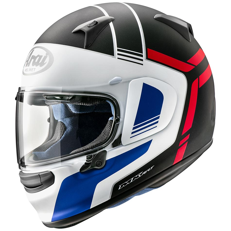 Casque Arai Profile V Tube Red Casque Moto Intégral