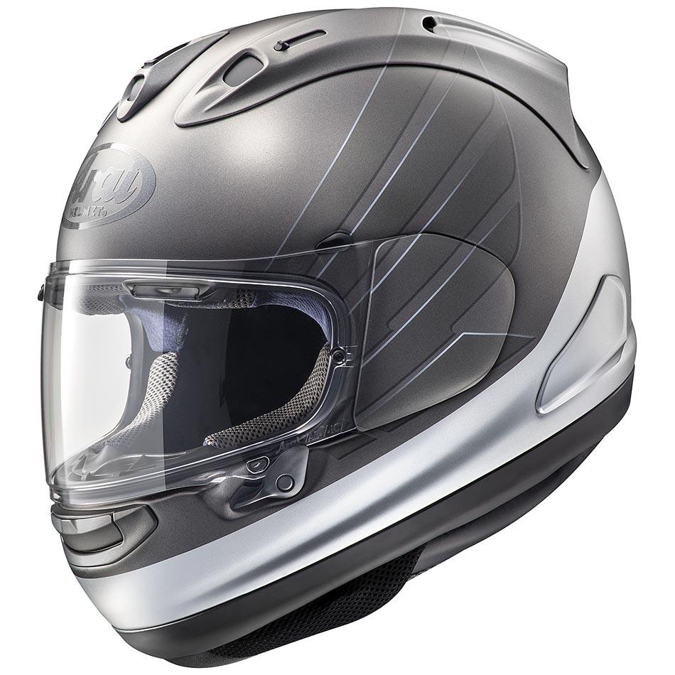 Casque Arai Rx7 V Honda Cb Grey Casque Moto Sportive