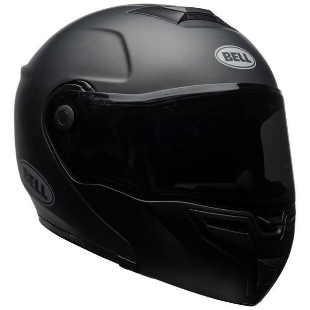 Bell Srt Modular Matte Black Casque Moto Modulable Noir Mat