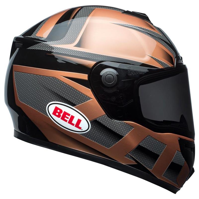 casque bell helmets srt predator copper black int gral moto. Black Bedroom Furniture Sets. Home Design Ideas